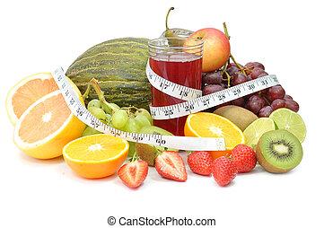 fruta, detox