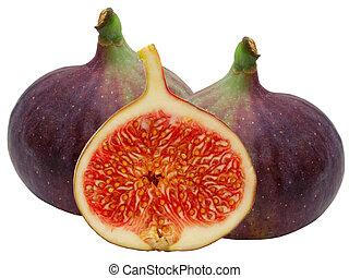 fruta fresca, figo
