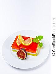 fruta, geléia