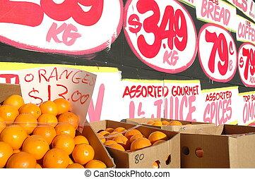 fruta, loja