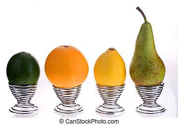 fruta, manhã