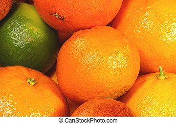 fruta mezclada