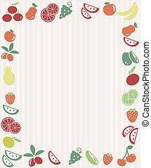 fruta, quadro