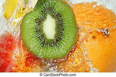 fruta, respingo