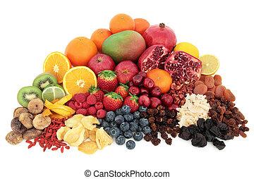 fruta, superfood