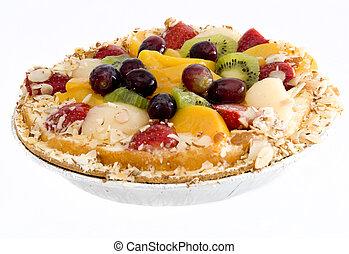 fruta tropical, torta