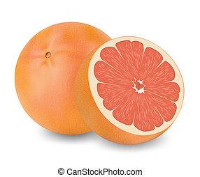 fruta, uva