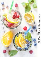fruta verão, water.