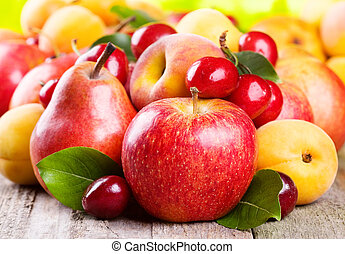 frutas, bagas