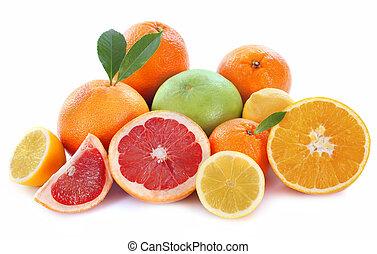 frutas cítricas