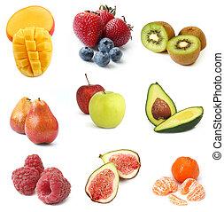 frutas, cobrança