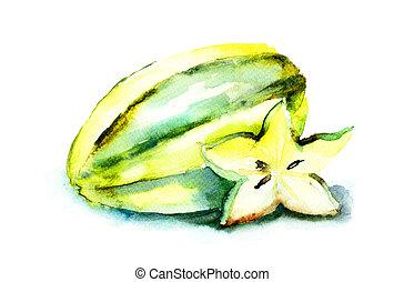 frutas estrela
