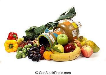 frutas legumes