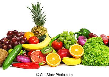 frutas, legumes