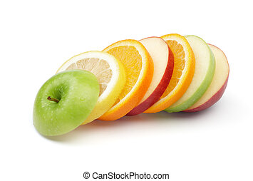 frutas mezcladas