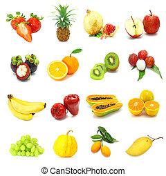 frutas misturadas