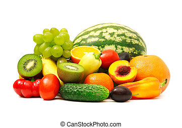 frutas y vehículos