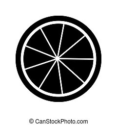 frutta agrume, limone, icona