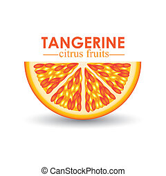 frutta agrume, mandarino