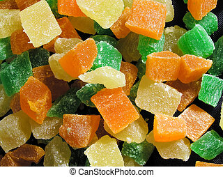 frutta, crystalized