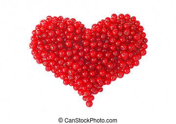frutta, cuore
