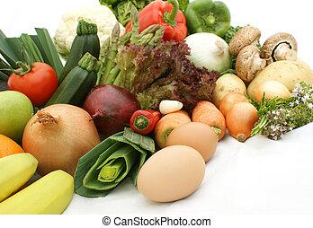 frutta, e, verdura