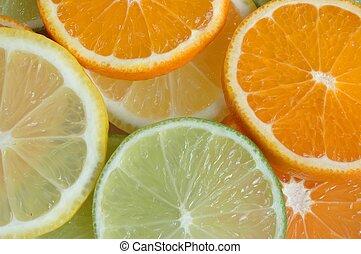 frutta, fette