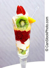 frutta, gelato