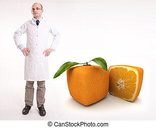 frutta, laboratorio