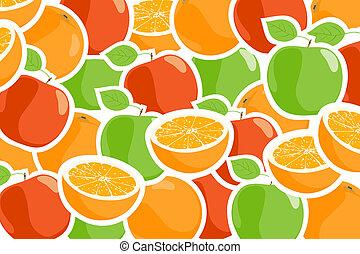 frutta, maturo