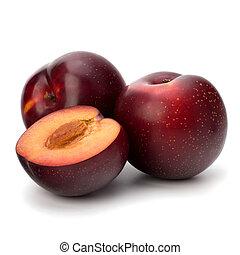 frutta plum rosse