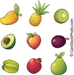 frutta, set