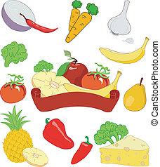 frutta, verdura