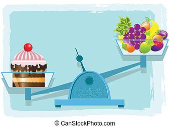 frutte, torta