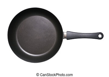 Fry Pan Isolated - Fry pan isolated on a white background ...