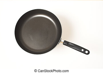 fry pan isolated