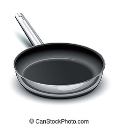 Frying pan for cooking