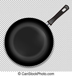 Frying Pan Isoladed