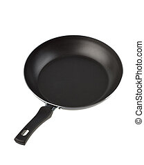 Frying pan - Isolated frying pan on a white background