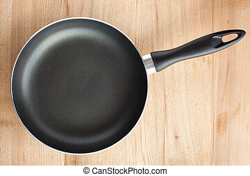 frying pan - photo shot of frying pan