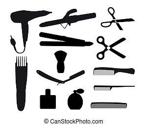 fryzjer, narzędzia