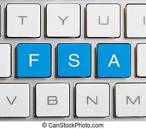 FSA Word On Keyboard Button