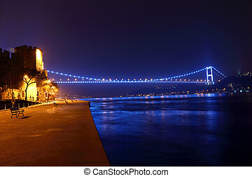 FSM Bridge Night View