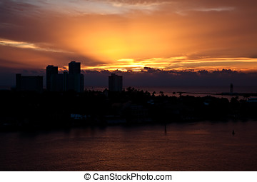 Ft. Lauderale, Florida sunrise