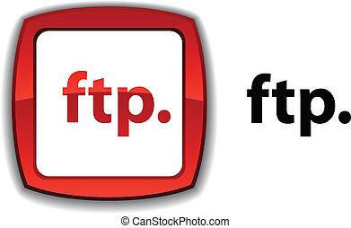 ftp, button.