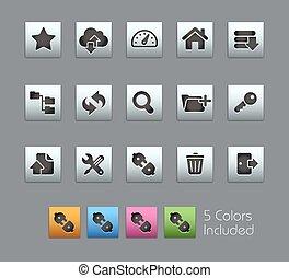 FTP & Hosting Icons // Satinbox