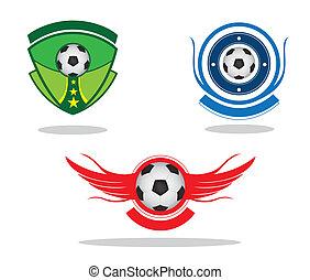 fußball, emblem