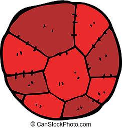 fußball, karikatur