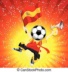fußball, spanien, winner.