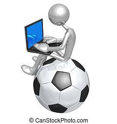 fußballfootball, online